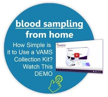 Self Collecting Blood Sampling Improve Compliance No Cold Chain