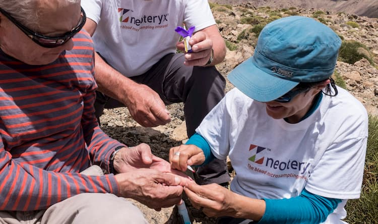 Hikers, Remote Blood Collection