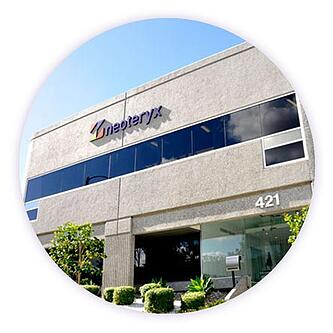 Exterior photo of Neoteryx corporate headquarters building