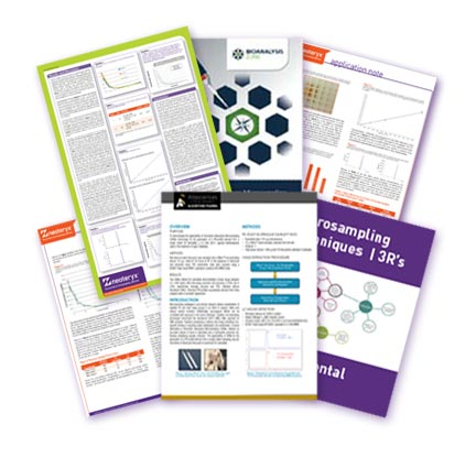 Microsampling applications in Animal Testing.  Click to download our resource bundle of various studies and research using Microsampling in a preclincial context