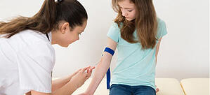 venipuncture blood sampling in clinic setting