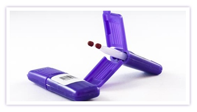 Mitra cartridge capillary blood collection device