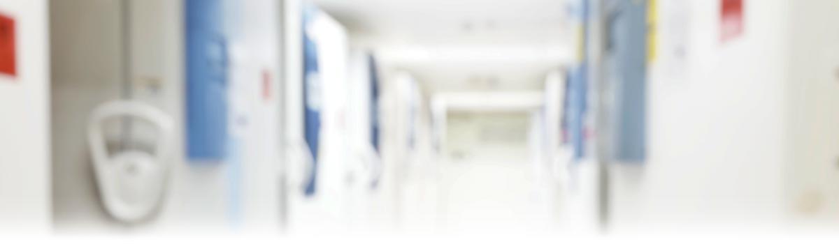 Hallway of Blood Specimen Storage Refrigerators