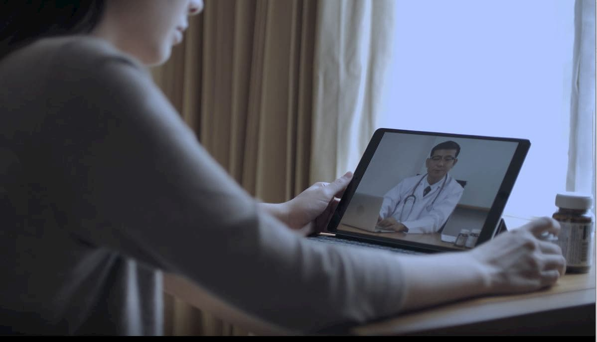 Telemedicine Video Consult After Remote Blood Collection