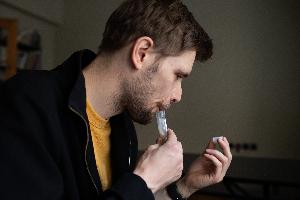 When is dried saliva sampling useful?