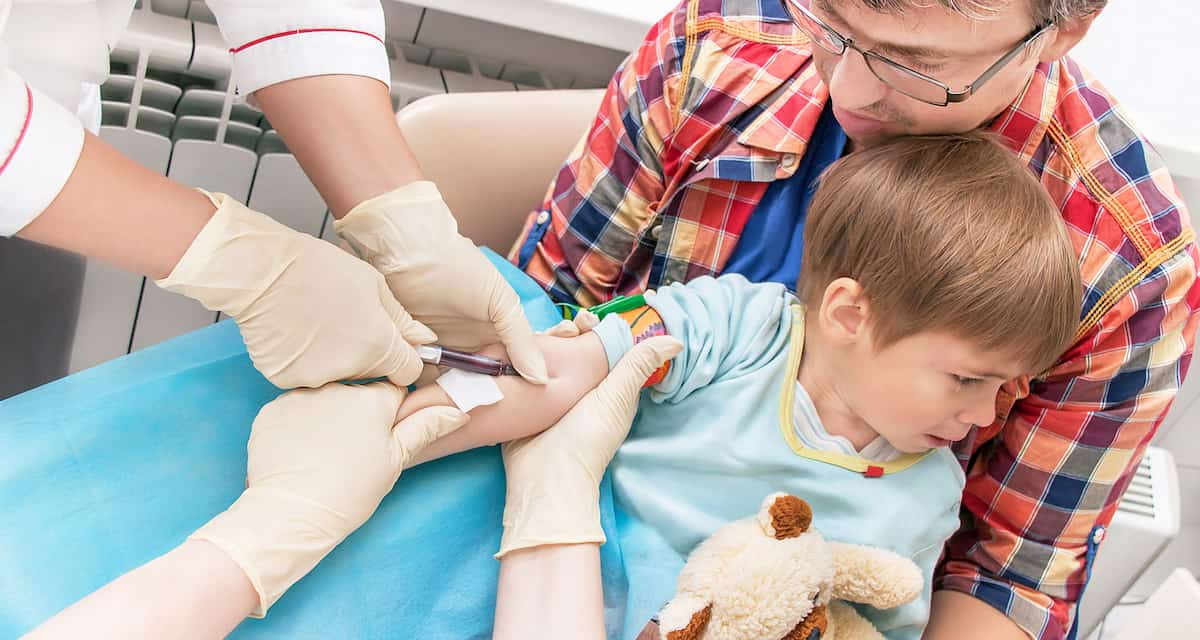 at-home blood collection kits can reduce trauma for young patients